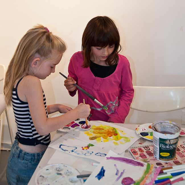 kids art classes at GPAG, Gibsons Public Art Gallery, childrens art classes, Sunshine Coast