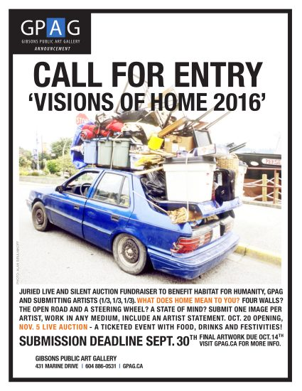 Visions of Home 2016 | Oct 20 – Nov 6