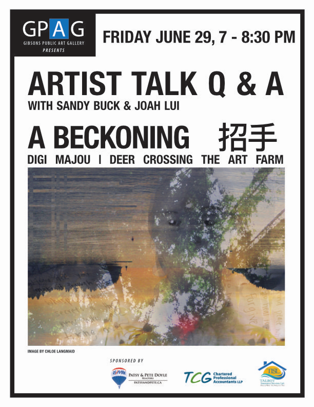 Artists' Talk Q&A with Sandy Buck and Joah Lui