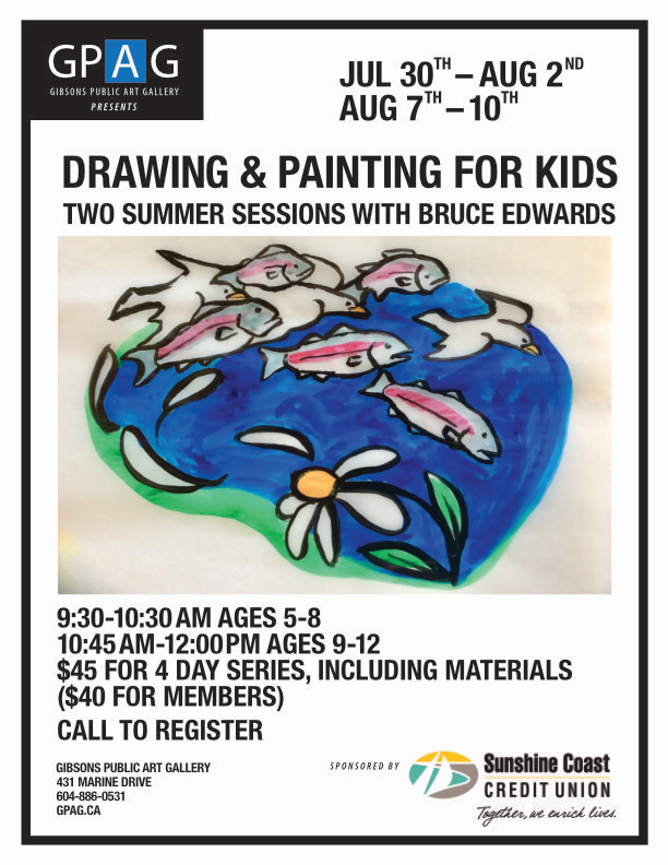 DRAWING AND PAINTING FOR KIDS WITH BRUCE EDWARDS AGES 5 - 8