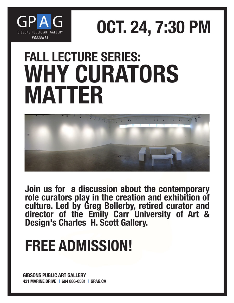 Fall Lecture Series: Why Curators Matter