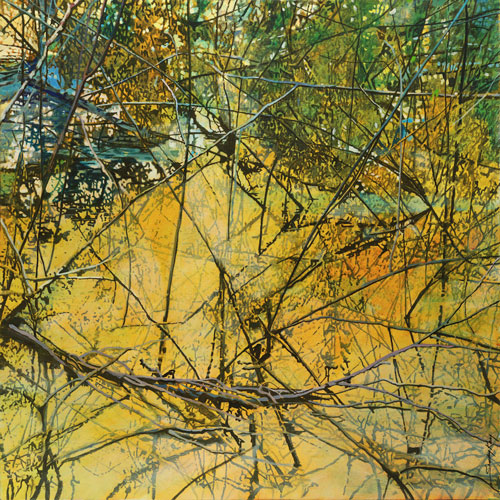 'A Tangled Web' (acrylics) | Opening Reception