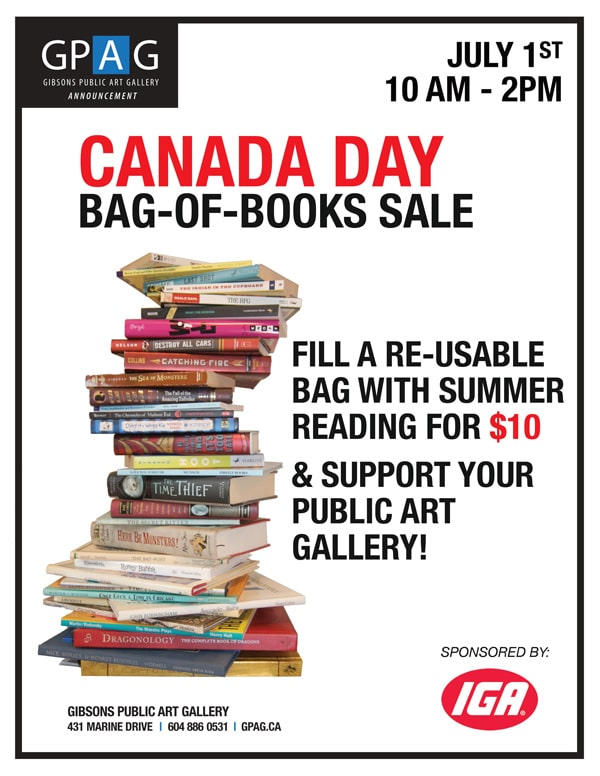 Canada Day Bag-of-Books Sale 2019