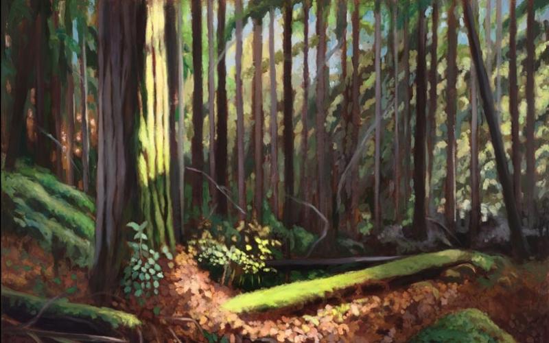 lil chrzan painting